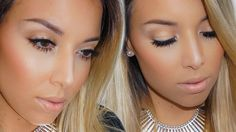 Neutral Glam Makeup Tutorial!