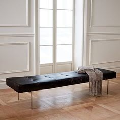 Ambassador Leather Bench #westelm ENTRYWAY BENCH TO TSKE SHOES OFF
