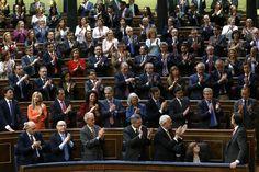 08/04/2014 Madrid, España El Presidente del Gobierno, Mariano Rajoy en el Congreso de los Diputados durante el debate sobre la consulta soberanista en Cataluña.  Fotografía: Diego Crespo / Moncloa Presidencia del Gobierno