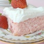 Gonna Want Seconds - Strawberry Sheet Cake with Lemon Cream Cheese Frosting - Gonna Want Seconds