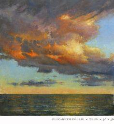 Elizabeth Pollie: Zeus beautiful cloud over ocean