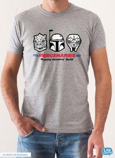 Mercenaries t-shirt | Design by Stationjack