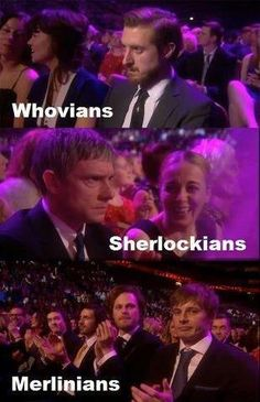 Reactions last night to Downton Abbey beating Doctor Who, Merlin and Sherlock. :( We were all mad...