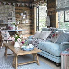 Have you always dreamed of your very own she shed? Here's how to create a chic and pretty hideaway where you can work or relax