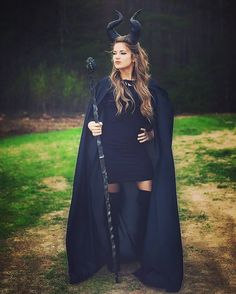 Maleficent costume idea