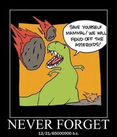 The Dinosaurs' Sacrifice.