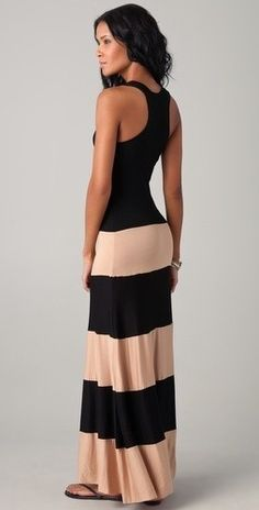 Maxi dress, love this!