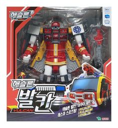 Tobot Athlon Vulcan Transforming Rescue Robot Car Toy Korea Animation Character for sale online Robot Action Figures, Star Wars Toys, Transformers, Animation Character, Car, Image Link, Korean, Note, Amazon