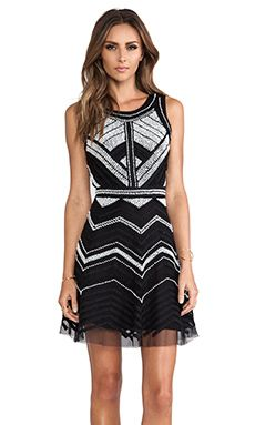 Parker Verda Dress in Black White | REVOLVE