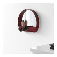 IKEA - YPPERLIG, Mirror, Suitable for use in most rooms, and tested and approved for bathroom use.Safety film  reduces damage if glass is broken.
