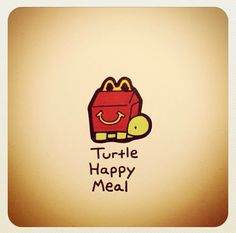 Turtle Happy Meal @turtlewayne