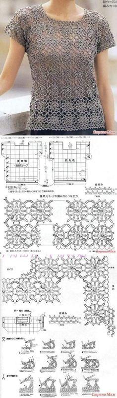 Crochet Motifs, Crochet Squares, Crochet Stitches, Crochet Patterns, Crochet Hat For Women, Crochet Woman, Crochet Dolls, Crochet Clothes, Crochet Flowers