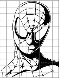 Drawing Superheroes is a great way to keep 6th grade students interested in grid drawings.  The graphic lines make the image simpler and give students a better chance for success.