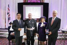 하나님의교회 안상홍증인회 영국여왕상 수상