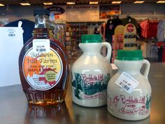 Maple Syrup. It wouldn't be a trip to Niagara Falls without some Pure New York Maple Syrup!