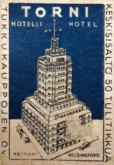 Tikut – Old matchbox labels. Map Pictures, Helsinki, Finland, Fire, Ads, Black And White, Movie Posters, Signs, Vintage