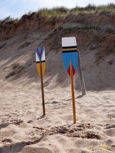 DIY : Décorer des rames avec des motifs géométriques et colorés - Turbulences…