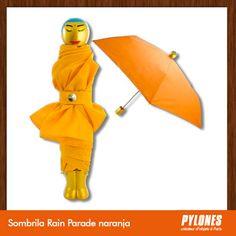 Sombrilla Rain Parade naranja @pylonesco #Pylonesco #Navidad #Regalos #Pylones #Novedades #New #Gifts #Christmas Pylones Colombia — en Colombia.