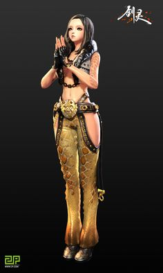 Blade & Soul (CN) Teases New Persian Themed Continent and Costumes - 2P.com - Blade & Soul - news