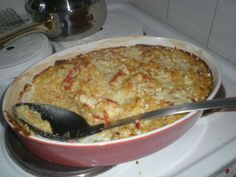 Smetana-broilerivuoka NAM Quiche, Macaroni And Cheese, Curry, Food And Drink, Chicken, Baking, Breakfast, Ethnic Recipes, Foods