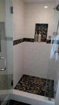 1000 Images About Shower Pebble Tile And Stone Tile Ideas