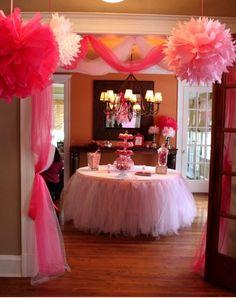 Pink Princess Party Decor for Ja'Nyah's next Birthday