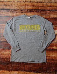 Show your spirit on game day in this awesome long sleeve Comfort Color Appalachian State Mountaineers t-shirt. Why be plain when you were born to stand out? Go App State!