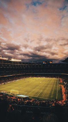 Messi Soccer, Soccer Stadium, Football Stadiums, Football Soccer, Soccer Sports, Lionel Messi Barcelona, Barcelona Football, Stadium Wallpaper, Football Wallpaper