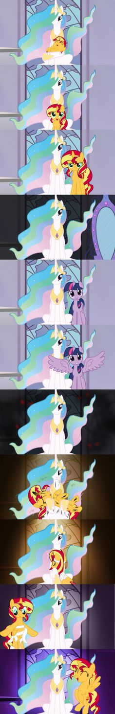 Why do you keep coming back for me? For a pony so close to my heart; what else can I do? Erk, I did not plan this through at all. I wanted a comic strip without words but couldn't find something th...