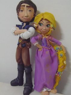 Fofuchas laestrellarosae, rapunzel y principe...