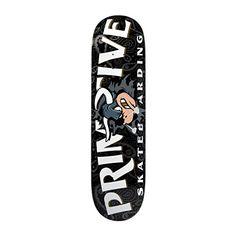 Primitive Raging Bull Skate Deck- Black - http://shop.dailyskatetube.com/?post_type=product&p=730 -  Primitive Skateboarding 'Raging Bull' group deck. Colour: Black.   -