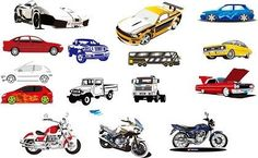 15 Vector Motorcycle and Car: 15 Vector Motorcycle and Car is free Vector car that you can download for free, file in AI, EPS & CDR formats. Vector car material suitable for car Design material. Download 15 Vector Motorcycle and Car on Multigfx.com today. Adobe Illustrator ai ( .ai ) format, Coreldraw cdr ( .cdr ) format