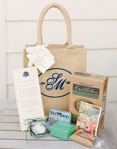Wedding welcome bag ideas to make your guests feel loved!
