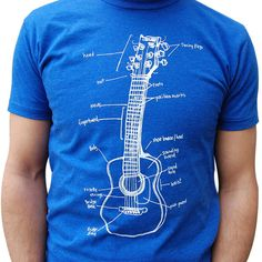 Guitar Lessons Tee Men's