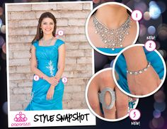 { Style Snapshot } Prom can quickly become a source of contention between parents and teens as they search for budget friendly solutions that look like a million bucks. Paparazzi has your formal night covered with gorgeous, glitzy accessories that are always just $5 a piece!