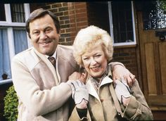 Terry and June. Terry and June was a British sitcom that was broadcast on from 1979 to 1987 and stared Terry Scott and June Whitfield British Tv Comedies, Classic Comedies, British Comedy, British Actors, 1970s Childhood, My Childhood Memories, Vintage Television, Comedy Tv, Kids Tv