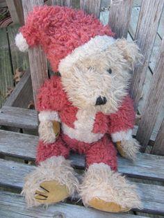 Boyd Sandy Claus Christmas Bear by 4DogCafe on Etsy, 25.00