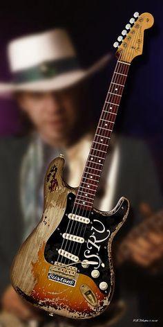 SRV ❤ Stevie Ray Vaughan's Number One 1963 Fender Stratocaster guitar