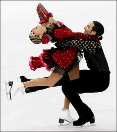 U.S. Wins Silver in Ice Dancing - Tanith Belbin and Ben Agosto. www.iceskatingworld.com