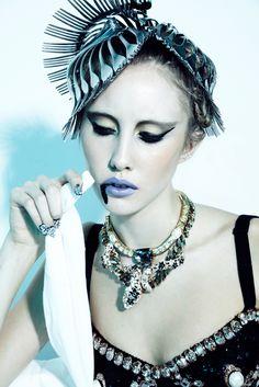 avant garde fashion | Nelson, Gabrielle Sullivan, Wilhelmina, avant garde, future fashion ...
