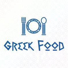 Food Logo Designs in a greek style for greek restaurants and greek foods For Sale on Stock Logos   GreekFood logo