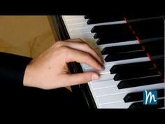 Posición de los dedos en el piano - Aprende piano con Música para Todos ® - YouTube