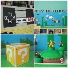 Classic Nintendo Birthday Party