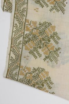 Ottoman Turkish Embroidered Panel For Sale at 1stdibs