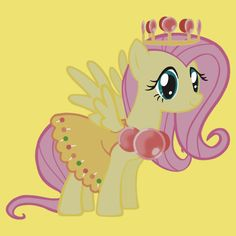 Princess Fluttershy Lolly