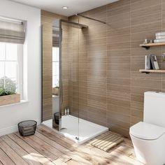 Designer Shower System 1200 x 800 inc Tray Loft Bathroom, Bathroom Wall, Bathroom Ideas, Walk In Shower Enclosures, Stone Shower, Shower Fittings, Contemporary Shower, Shower Accessories, Shower Systems