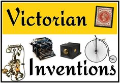 Victorian Inventions - Treetop Displays - Printable EYFS, classroom displays & primary teaching resources Ks2 Classroom, History Classroom, Teaching History, Classroom Displays, Teaching Resources, Victorian History, Victorian Ladies, Primary Teaching, British History