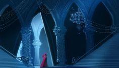 氷の宮殿とアナ