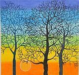 Sunrise Trees