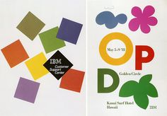 Paul-Rand-IBM-affiches-1980-1981